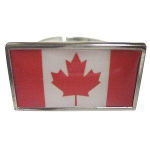 Canada Flag Fashion Ring